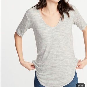 Old Navy Luxe Curved Hem Tunic